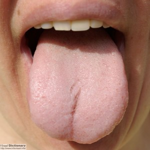 pale tongue