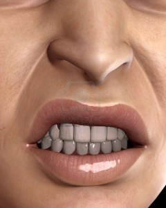 mouth woman angry