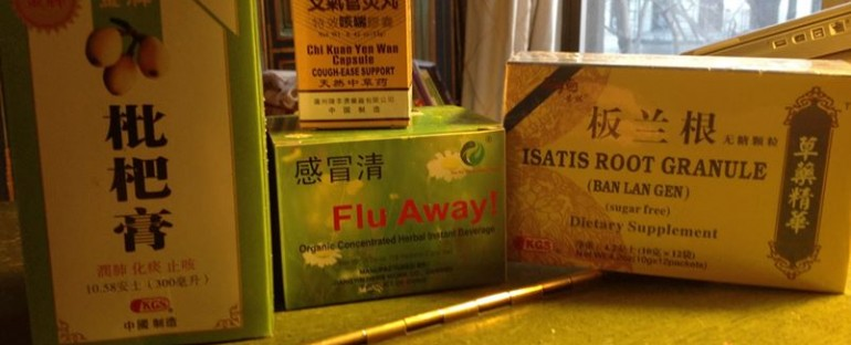 Chinatown Herbs for Flu